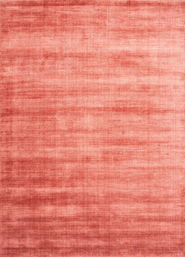 PHPV-20 Tea Rose/Tea Rose pink and purple viscose hand loom Rug