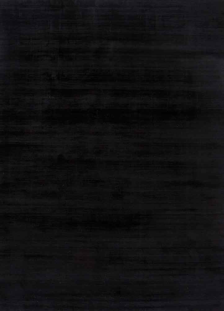 PHPV-20 Ebony/Ebony grey and black viscose hand loom Rug