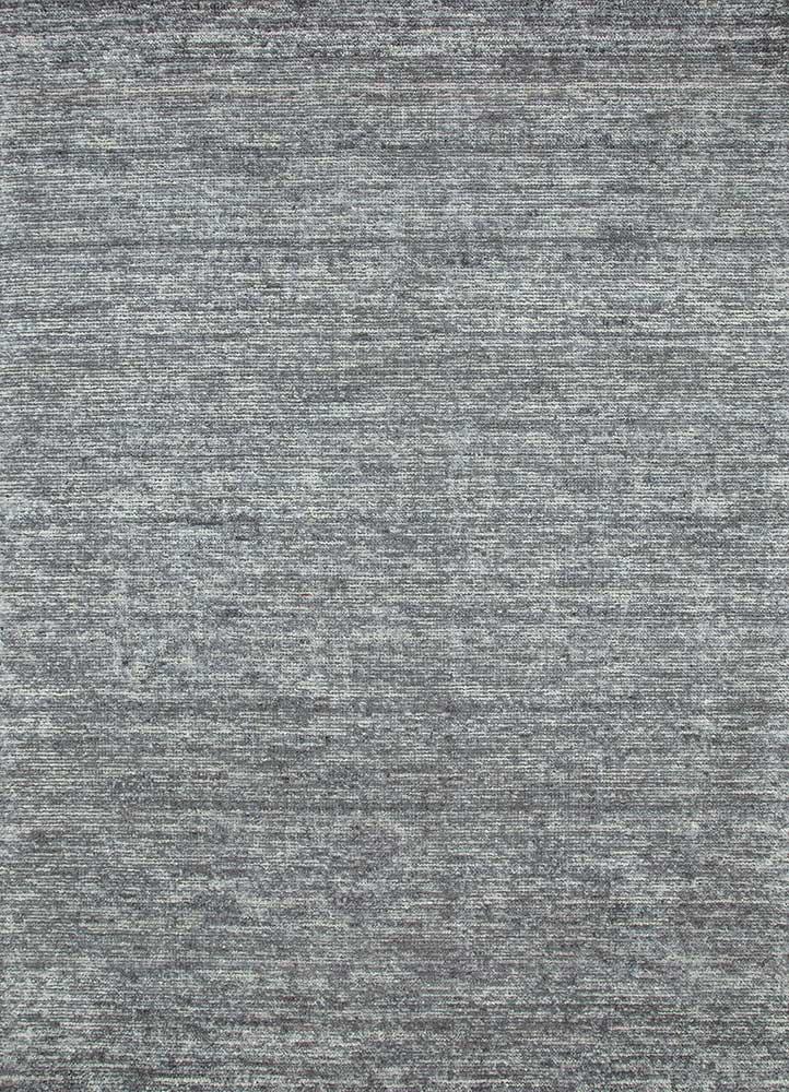 HWB-15 Black Pepper/Black Pepper grey and black wool hand loom Rug