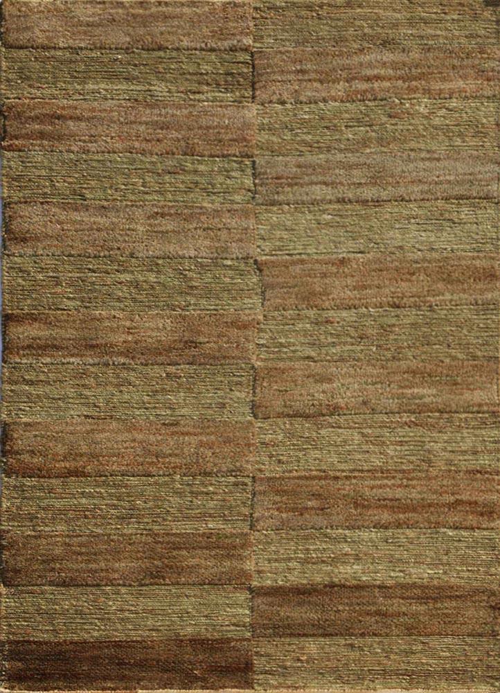 abrash green jute and hemp jute rugs Rug - HeadShot