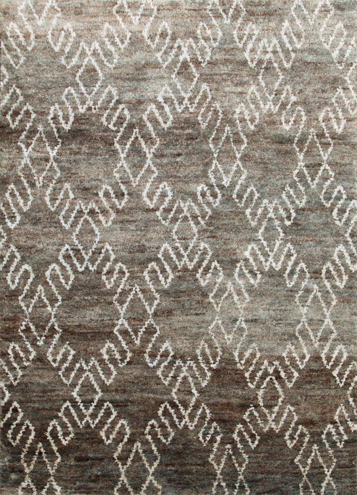 anatolia green jute and hemp jute rugs Rug - HeadShot