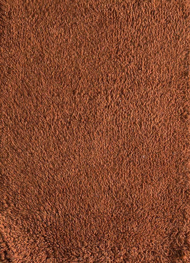 PKWL-624 Classic Rust/Classic Rust red and orange wool hand knotted Rug
