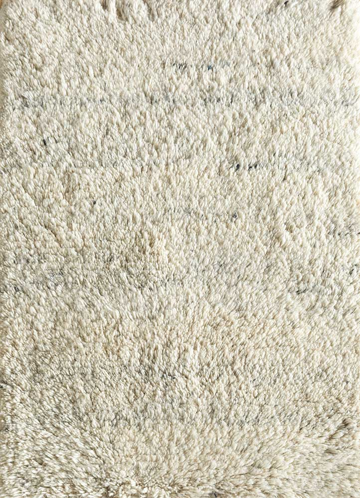 PKWL-624 Winter White/Winter White ivory wool hand knotted Rug