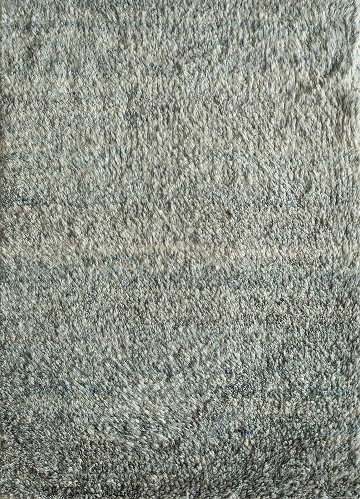 PKWL-624 Mineral/Mineral blue wool hand knotted Rug