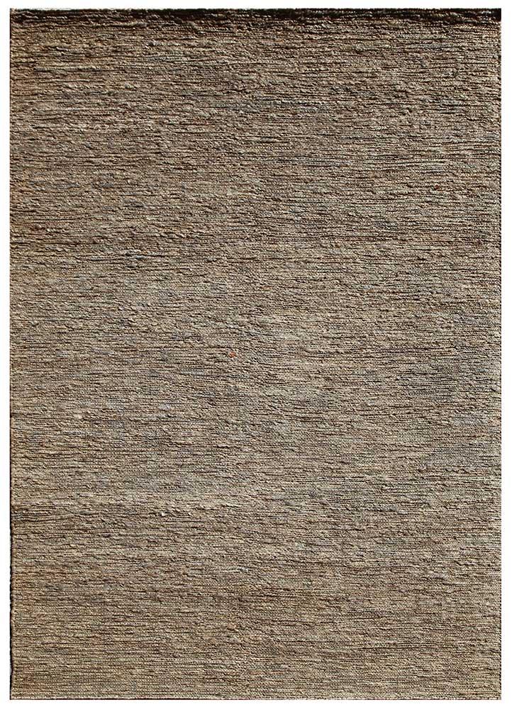 PX-01 Charcoal Slate/Charcoal Slate grey and black jute and hemp flat weaves Rug