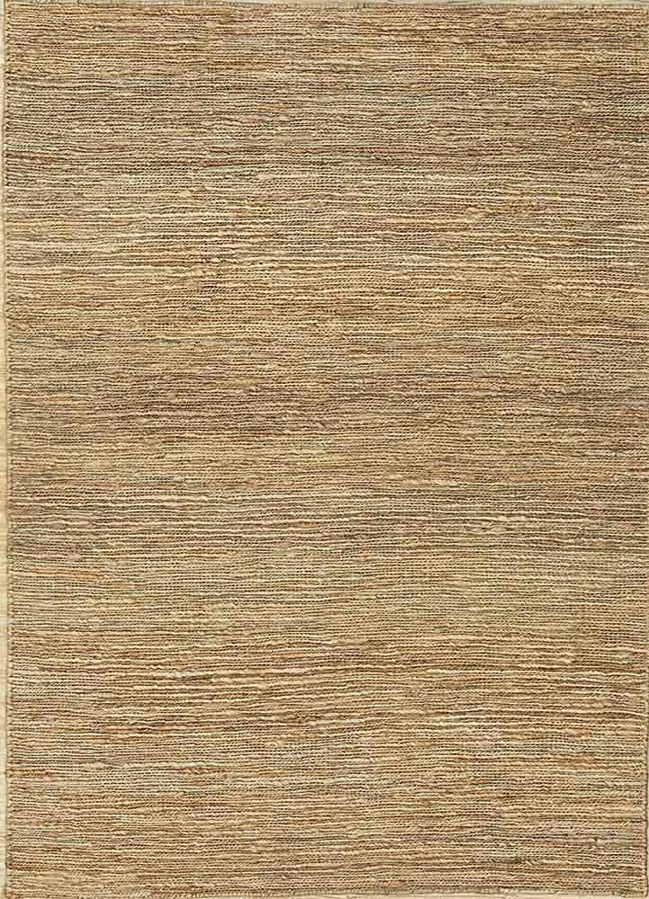 PX-01 Natural/Natural beige and brown jute and hemp jute rugs Rug