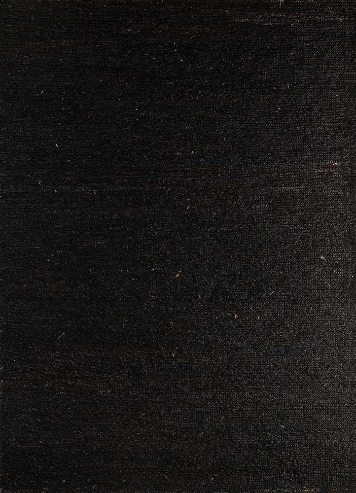 PX-01 Black Berry/Black Berry beige and brown jute and hemp jute rugs Rug