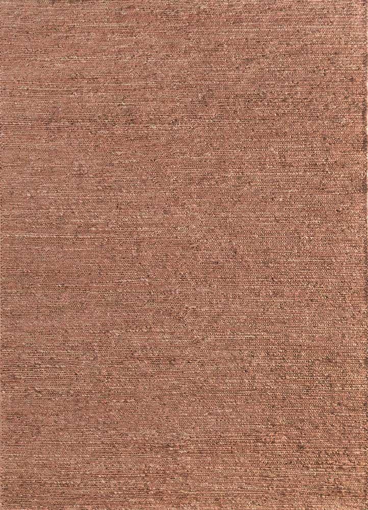 PX-01 Rose Petal/Rose Petal red and orange jute and hemp jute rugs Rug