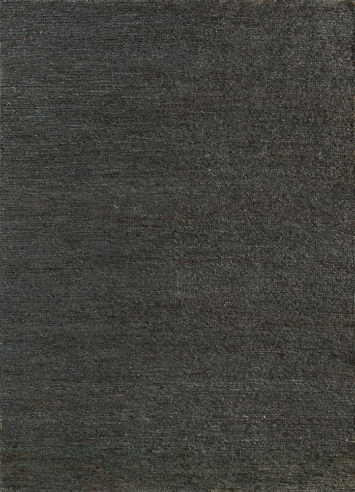 PX-01 Graphite/Graphite blue jute and hemp jute rugs Rug