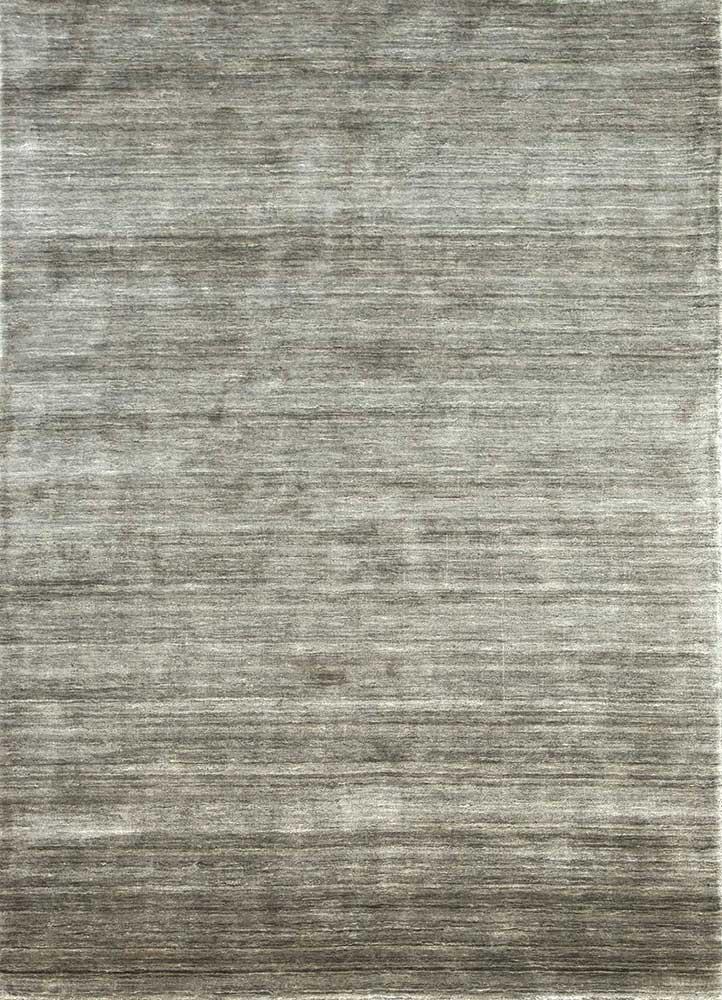 PX-1494 Charcoal Slate/Charcoal Slate grey and black bamboo silk hand loom Rug
