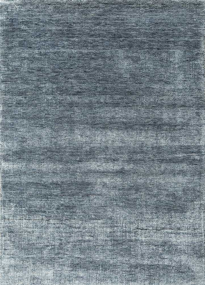 PX-1494 Chicory/Chicory blue bamboo silk hand loom Rug