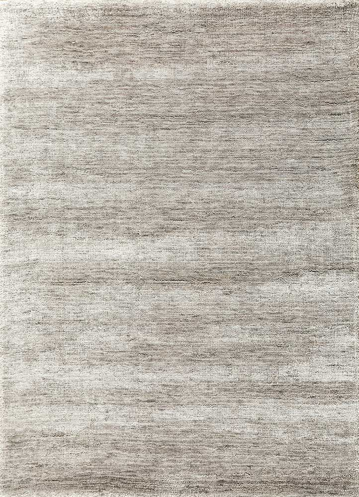 PX-1494 Dark Taupe/Dark Taupe grey and black bamboo silk hand loom Rug