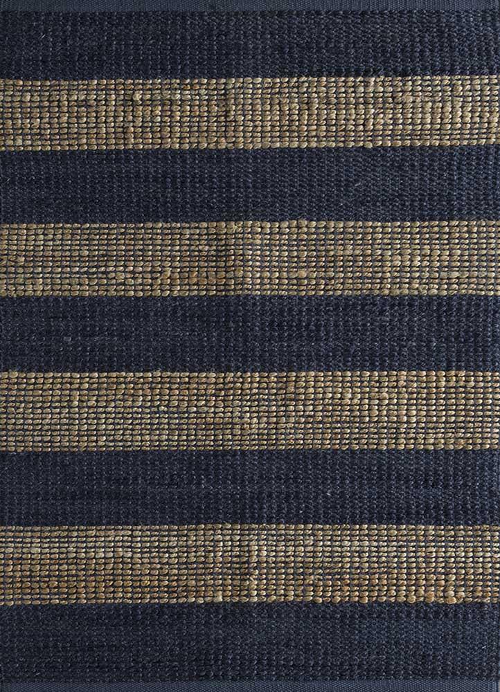 spatial beige and brown jute and hemp flat weaves Rug - HeadShot