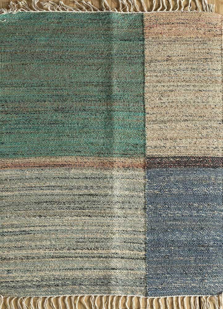 spatial green jute and hemp jute rugs Rug - HeadShot