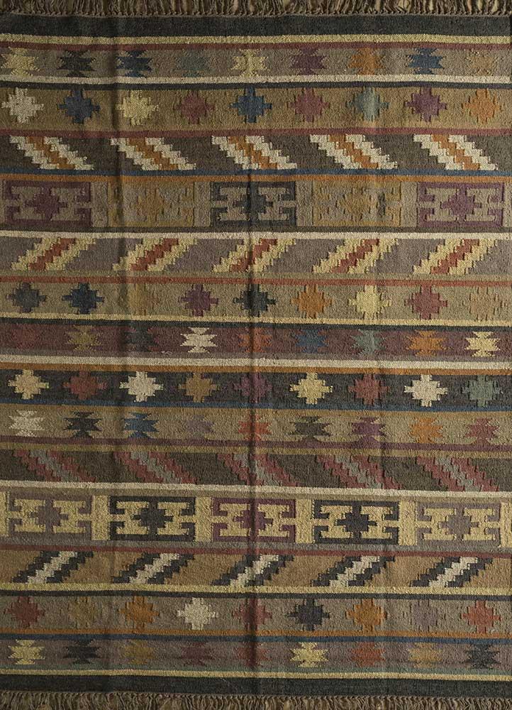 bedouin ivory jute and hemp flat weaves Rug - HeadShot