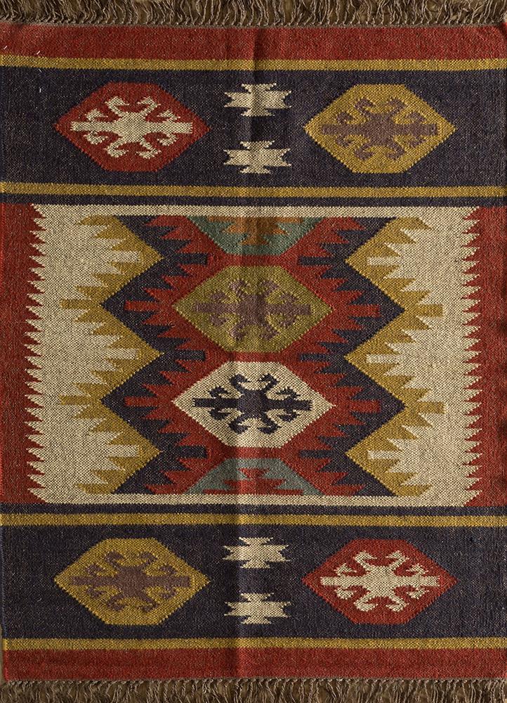 bedouin ivory jute and hemp jute rugs Rug - HeadShot