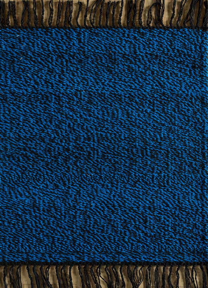 SDPL-91 Ebony/Blue Berry grey and black others flat weaves Rug
