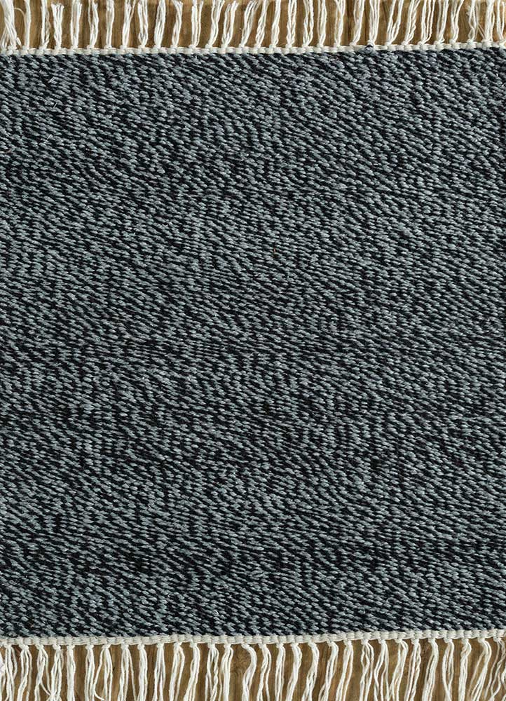 SDPL-91 Ebony/Steel Gray grey and black others flat weaves Rug