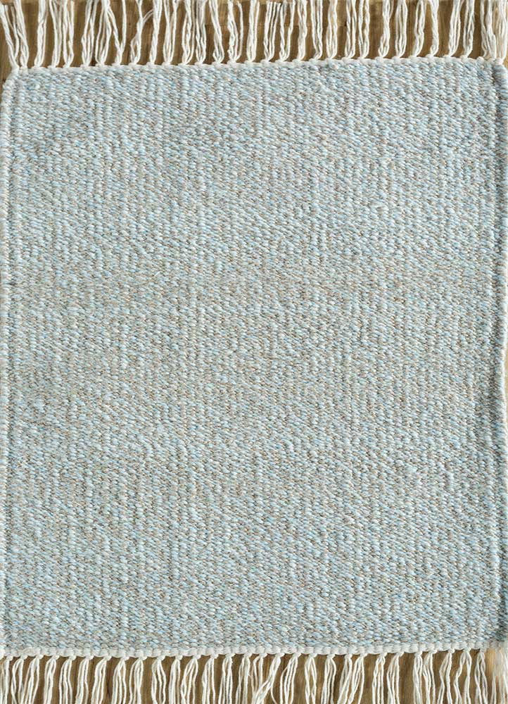 SDPL-91 Natural/Siam Blue beige and brown others flat weaves Rug