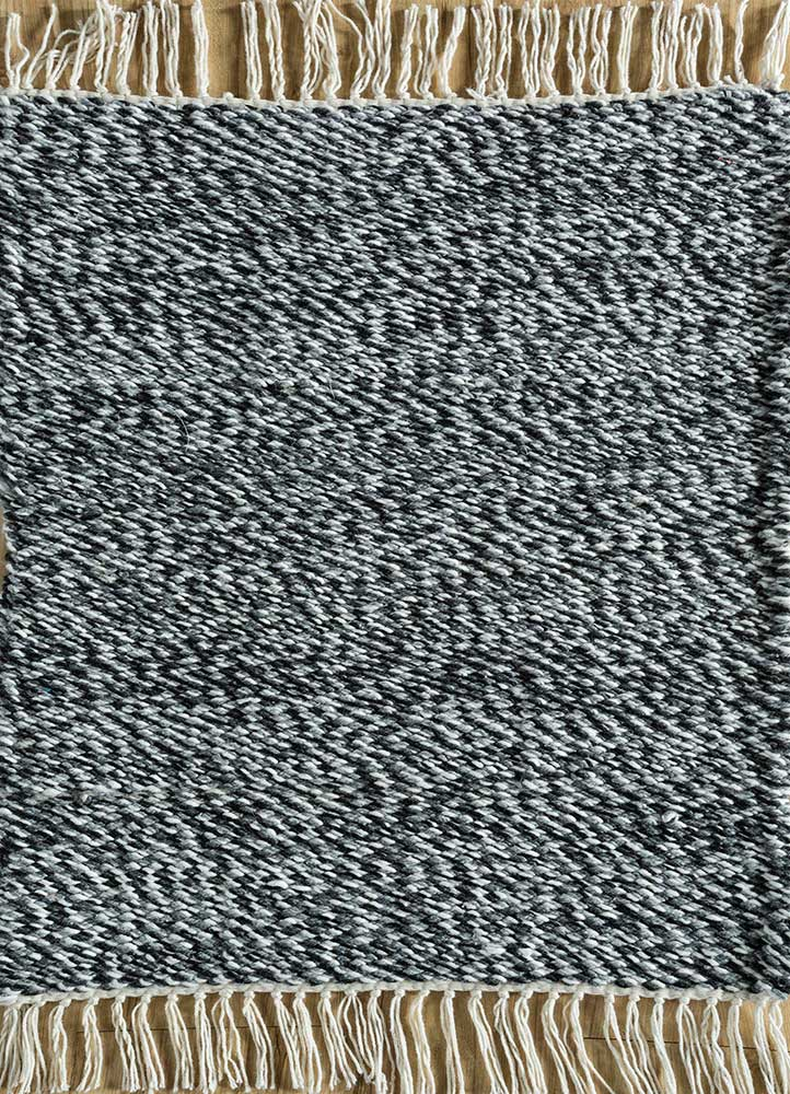 SDPL-91 Stone Gray/White grey and black others flat weaves Rug