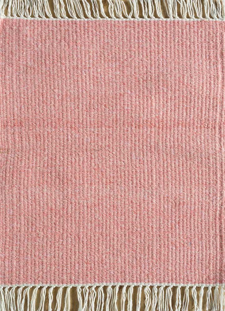 abrash pink and purple others flat weaves Rug - HeadShot
