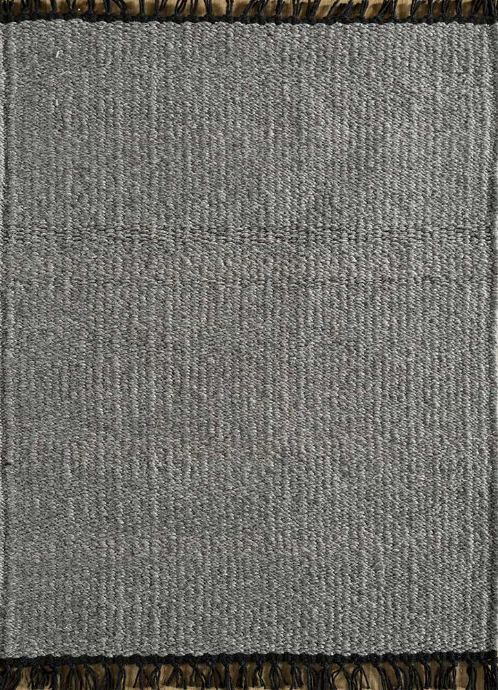 SDPL-98 Dark Gray/Dark Gray grey and black others flat weaves Rug
