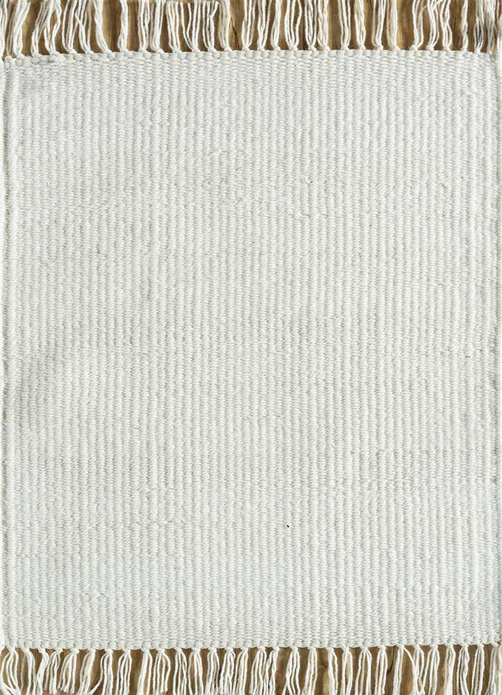 SDPL-98 White/White ivory others flat weaves Rug