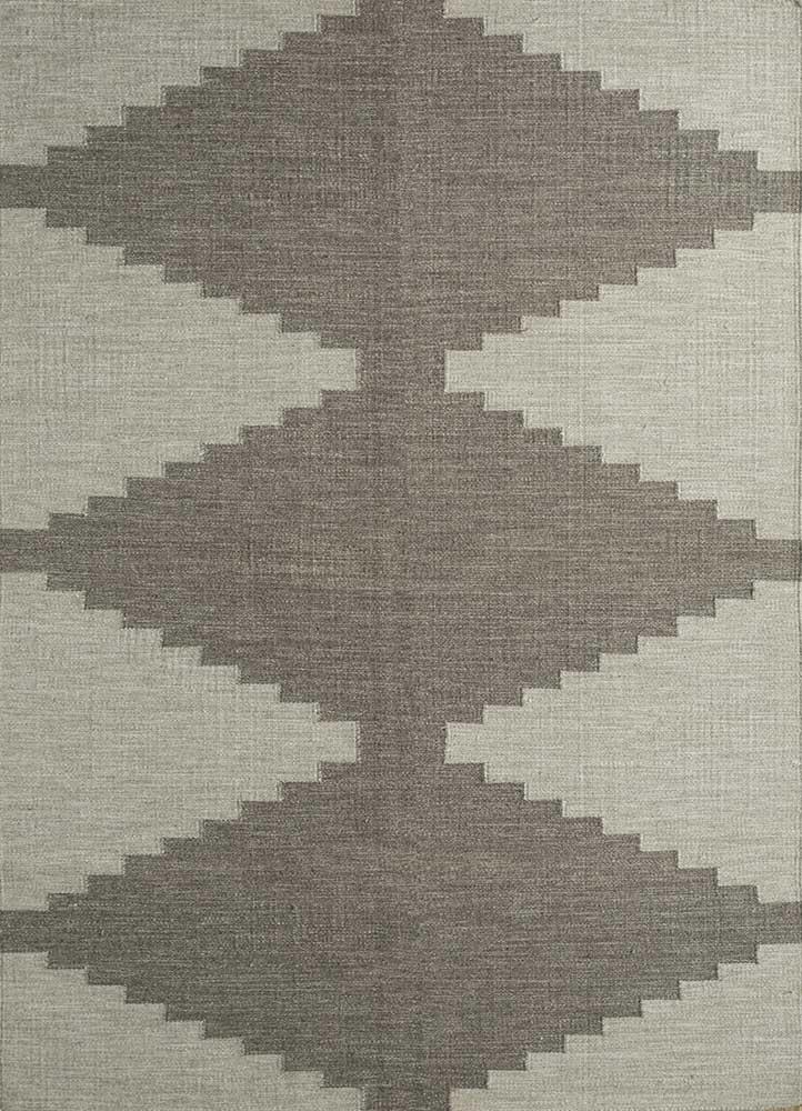 anatolia ivory wool flat weaves Rug - HeadShot