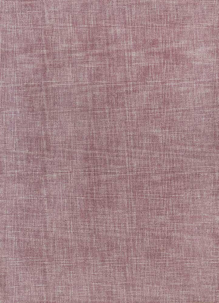 shudd pink and purple others hand tufted Rug - HeadShot