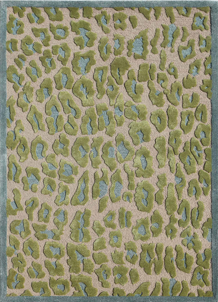 midtown by artemis ivory wool and viscose hand tufted Rug - HeadShot