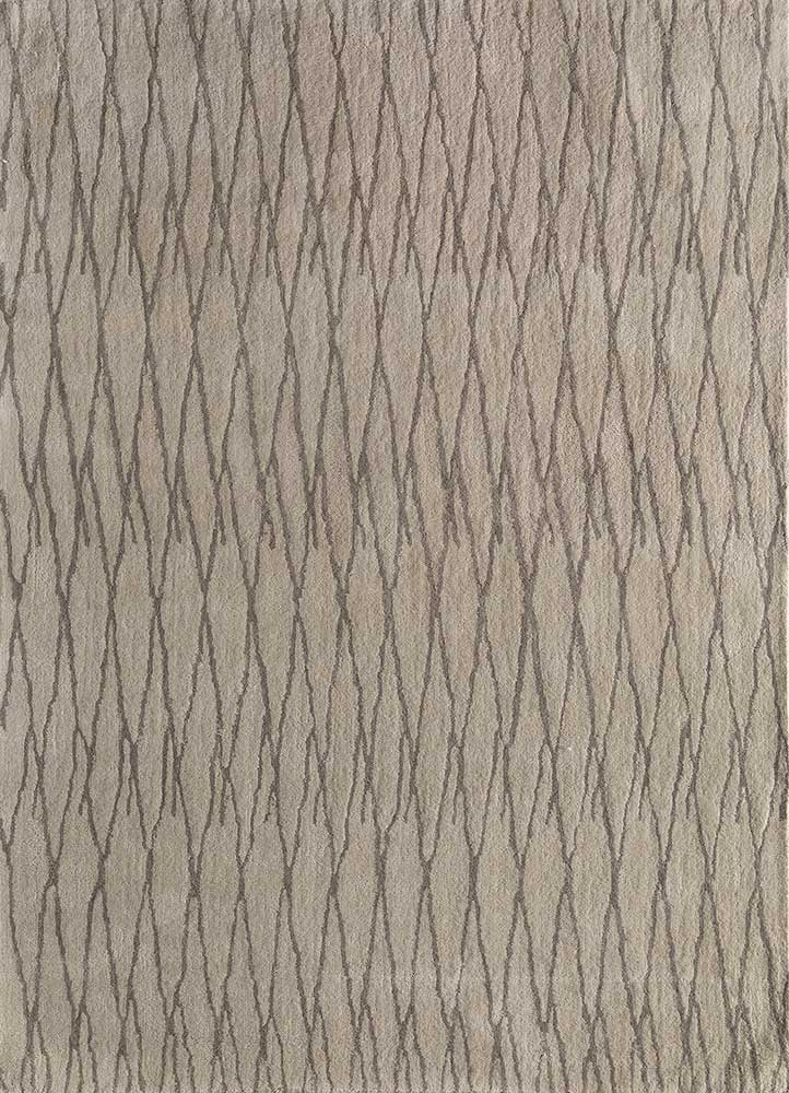 contour ivory wool hand tufted Rug - HeadShot