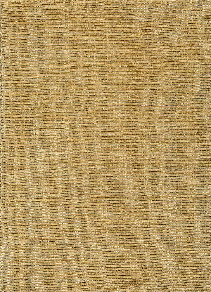 tesoro gold wool hand loom Rug - HeadShot
