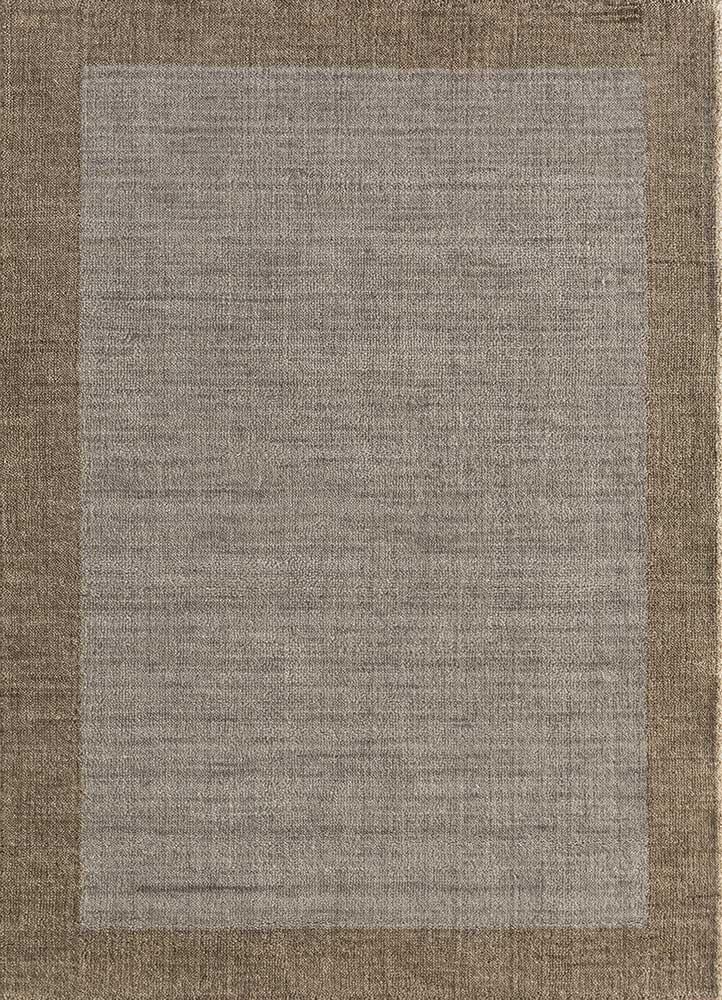 TX-1409 Linen/Linen ivory wool hand loom Rug