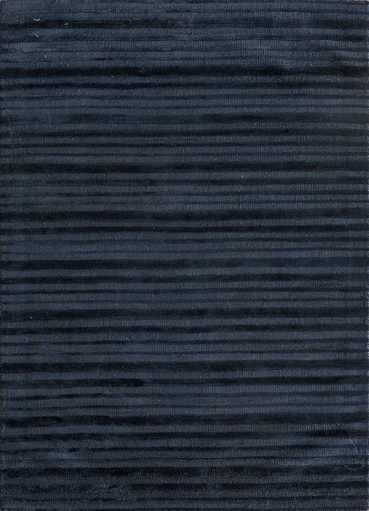 TX-1411 Orion Blue/Orion Blue blue viscose hand loom Rug