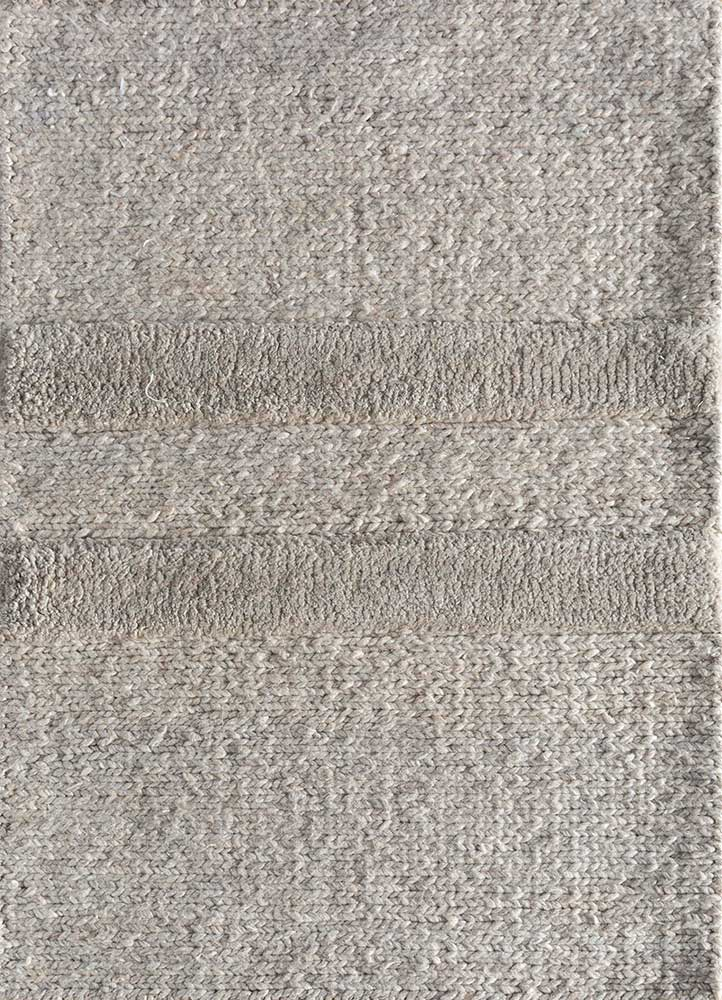 TX-1455 Light Beige/Light Beige beige and brown others hand knotted Rug