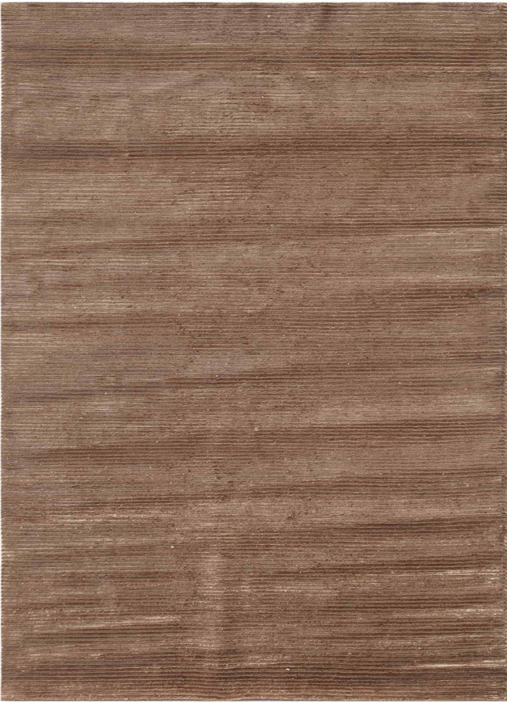 YYY-803 Warm Mocha/Warm Mocha beige and brown wool and viscose hand knotted Rug