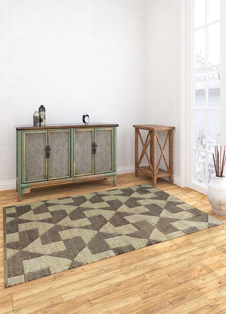 anatolia ivory jute and hemp flat weaves Rug - Loom