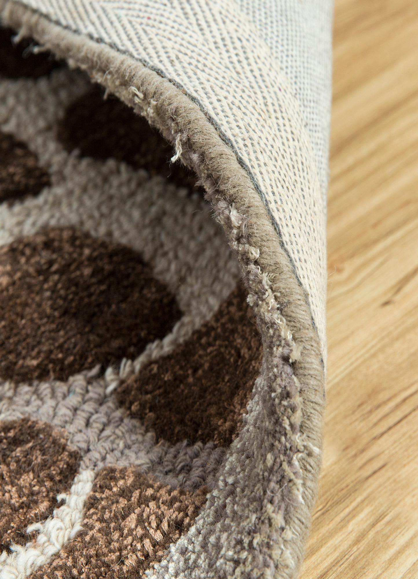midtown by artemis ivory wool and viscose hand tufted Rug - Loom
