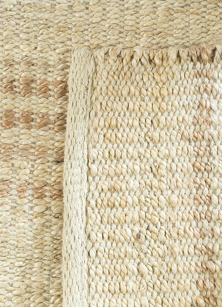 abrash ivory jute and hemp jute rugs Rug - Perspective